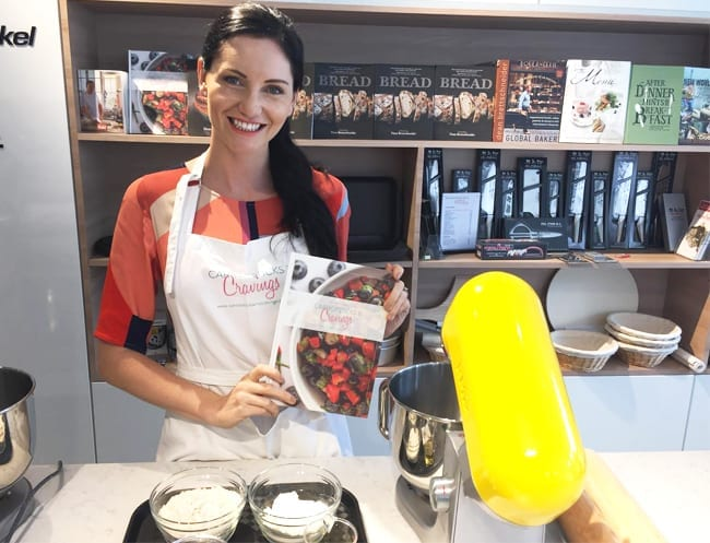 Cooking classes in Singapore: Healthy snacks for kids with Carrotsticks and Cravings at Brettschneider's Baking and Cooking School