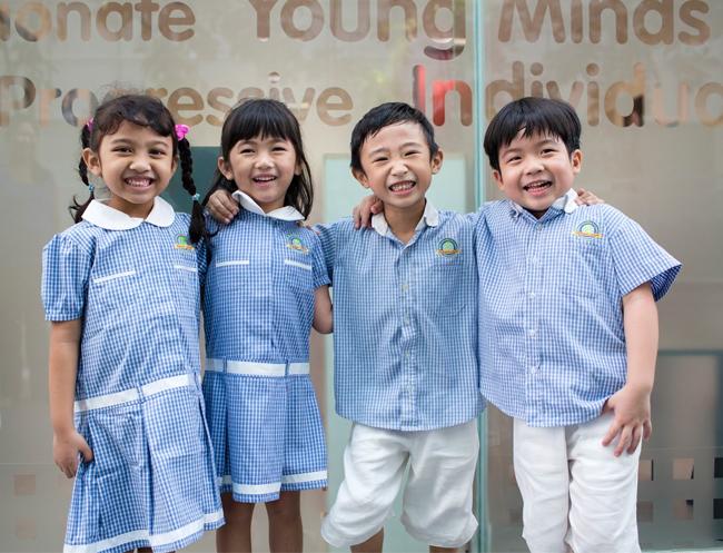A good preschool makes for happy kids!