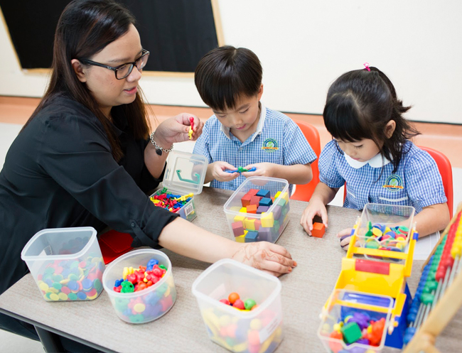 Experienced and caring educators help make the transition to preschool as easy as possible.