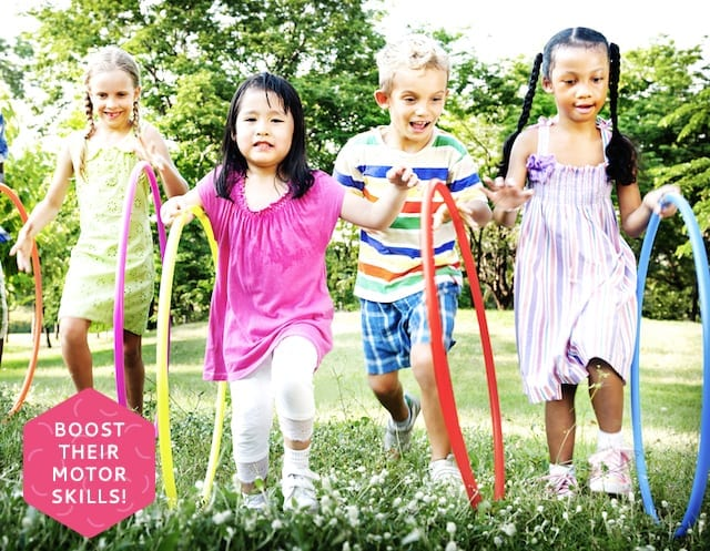 10 ways to improve your child's motor skills, strength and coordination at home