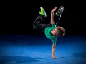 Dance classes for boys in Singapore