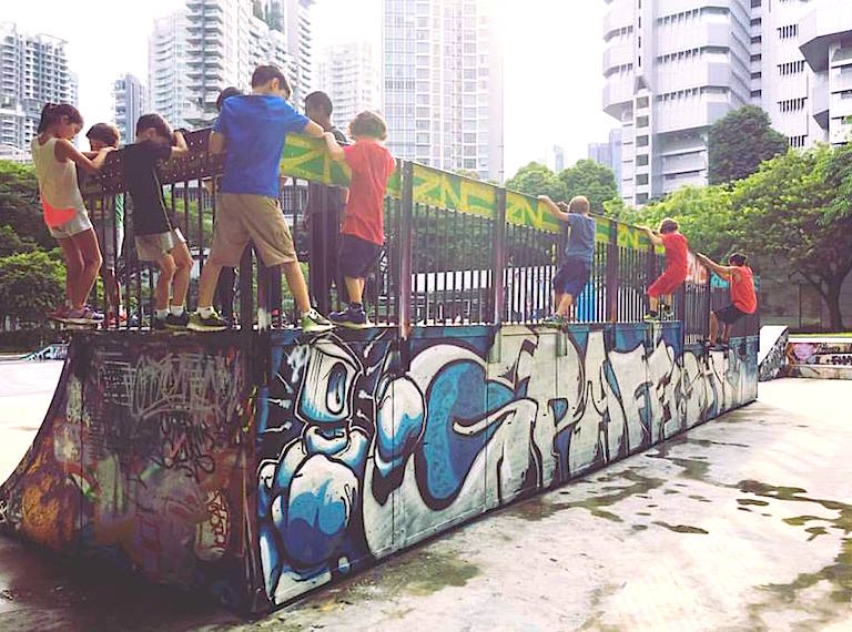 outdoor activities for kids in Singapore
