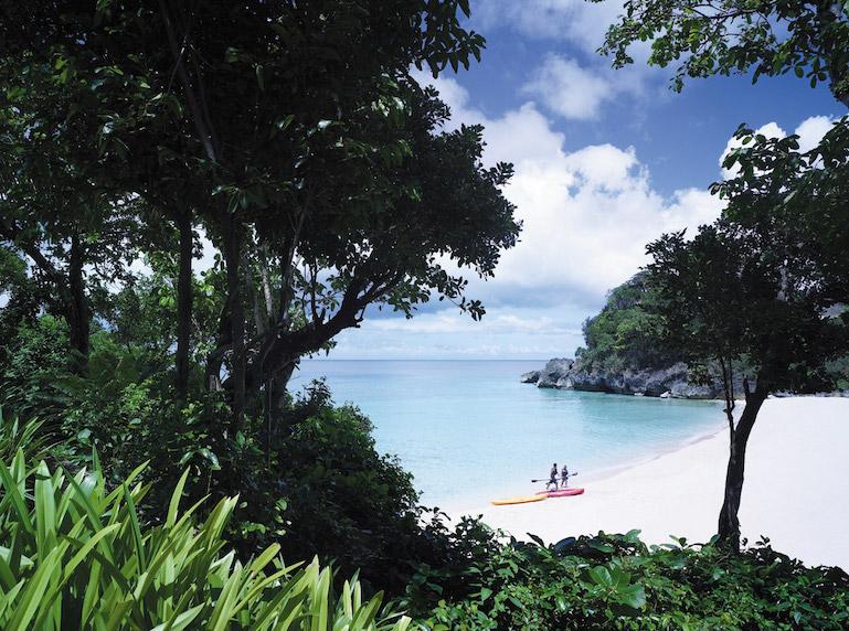 Shangri-La Boracay Kayaking