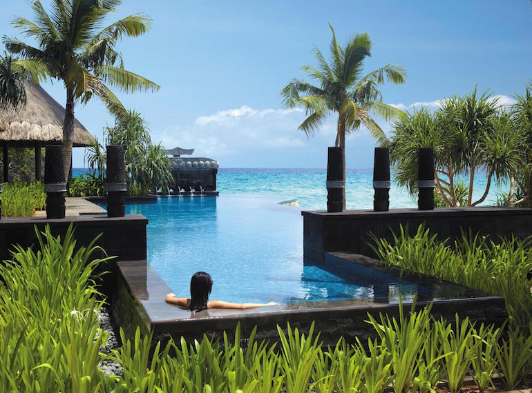 A pool with a view: just one of the 'don't make me leave' moments at The Shangri-La Boracay.