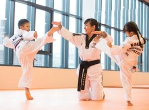 Boost your child's confidence, strength and coordination at a martial arts class. Photography: Trifecta Martial Arts. Honeykids Asia Singapore