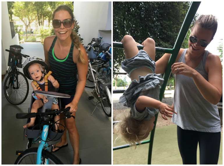 Mum-of-two Jayne Street makes fitness part of her lifestyle and is passionate about what the F45 workout can do for other mums.