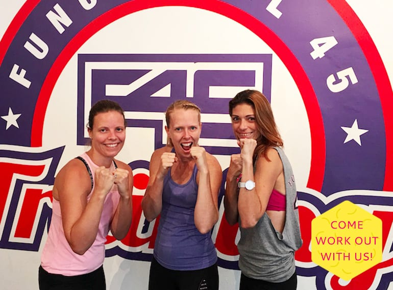 Get your fitness mojo back with the HoneyKids team and try out the F45 workout for free!