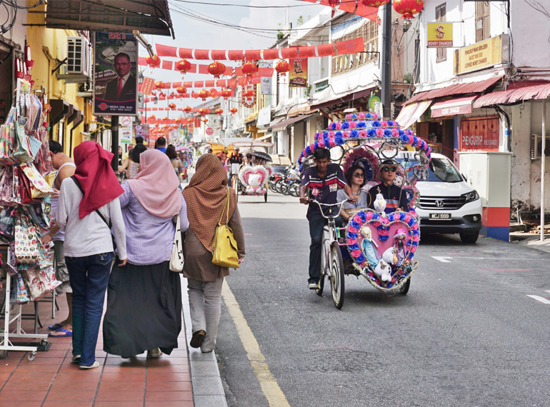 Jonker Street is jam packed with culture, the place to pick up local fashion, curios, artworks and street food