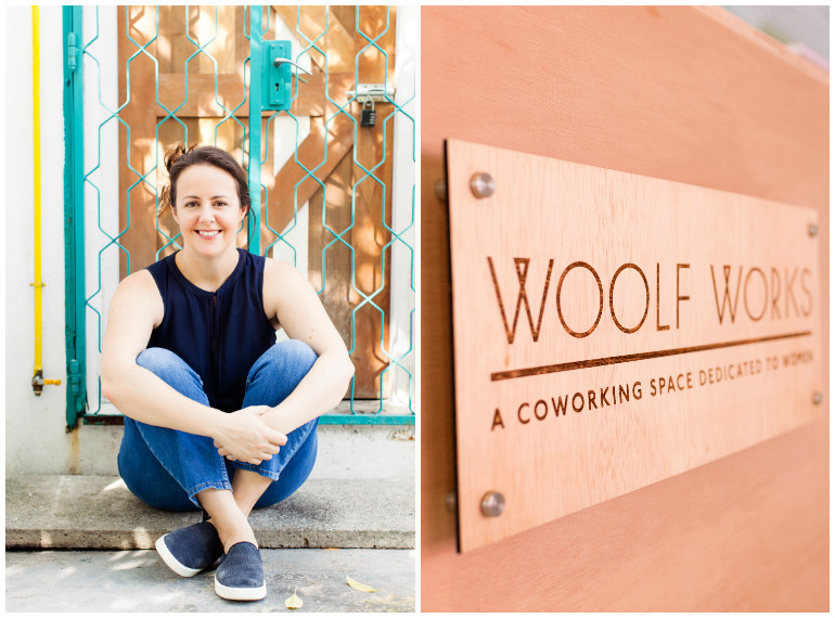 Michaela Anchan founded women's co-working space Woolf Works.