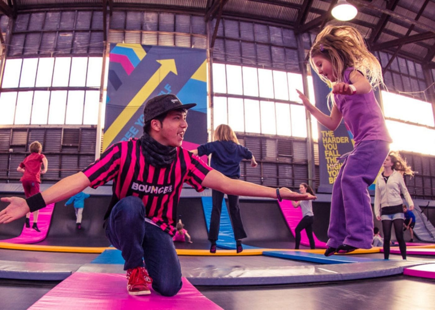 Bouncing off the walls: trampolining classes in Singapore for kids