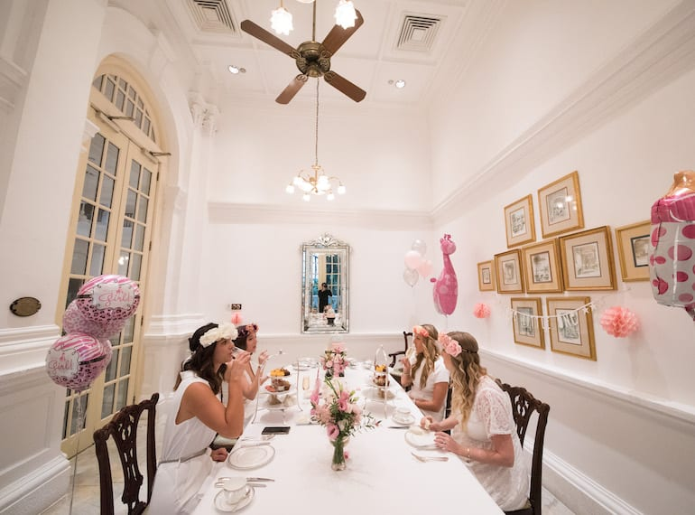 How to host a modern baby shower: An intimate high tea at Raffles Hotel Singapore
