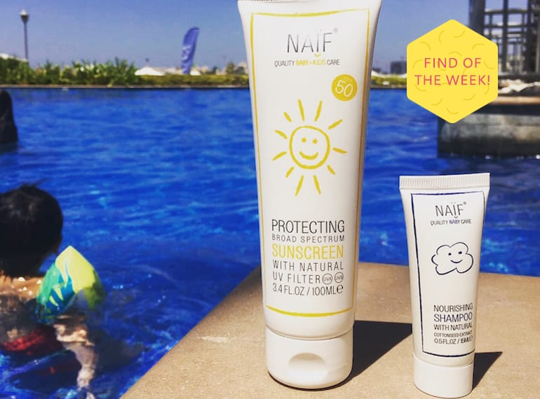 Skincare for babies and mums: paraben-free, toxin-free skincare by Naif