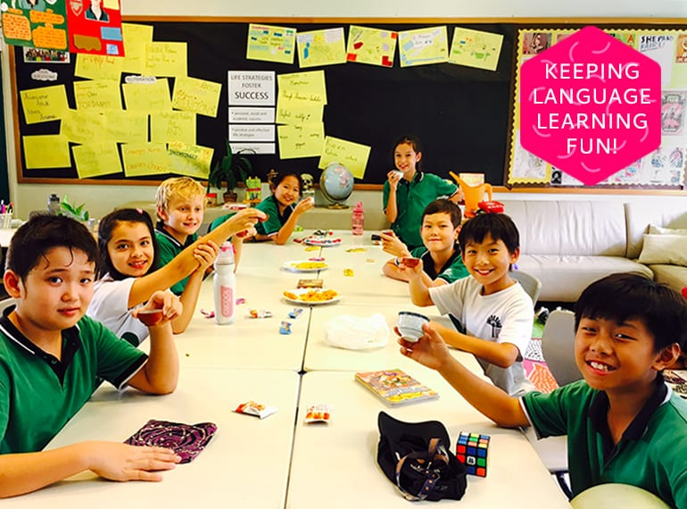 GESS celebrates diversity and encourages kids to stay connected to their roots through language learning and fun cultural experiences. Chinese tea ceremony, anyone?