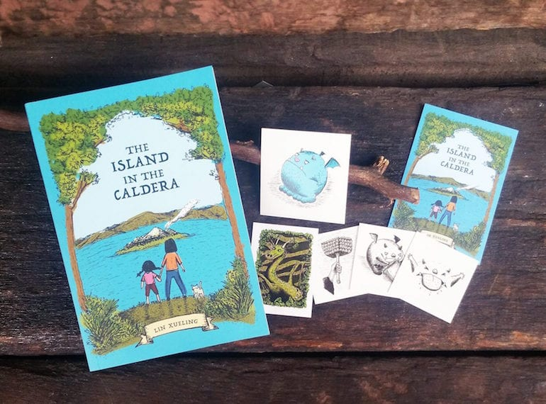 A story for kids with a fantastical, local twist: The Island in the Caldera by Lin Xueling
