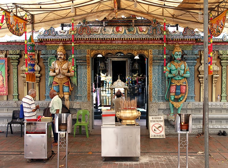 sri-krishnan-bagawan temples in Singapore Honeykids Asia
