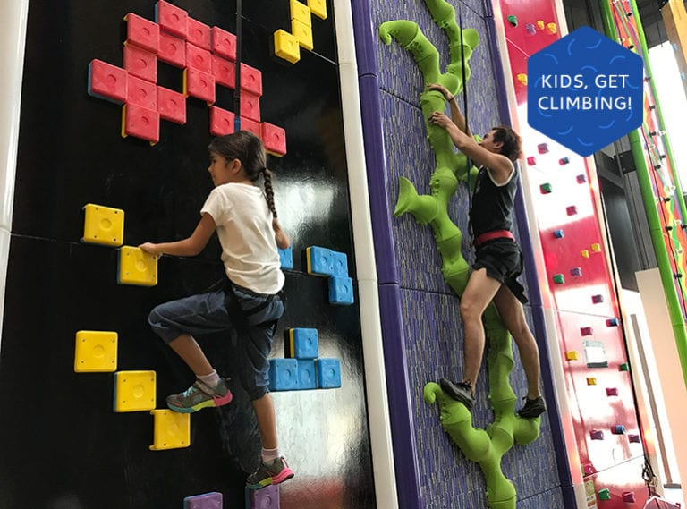 Things to do with the kids in Singapore: We review new indoor climbing centre Clip 'n' Climb