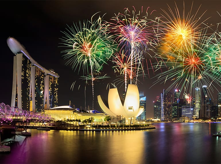 New Year's Eve countdown in Singapore: where to celebrate with the family