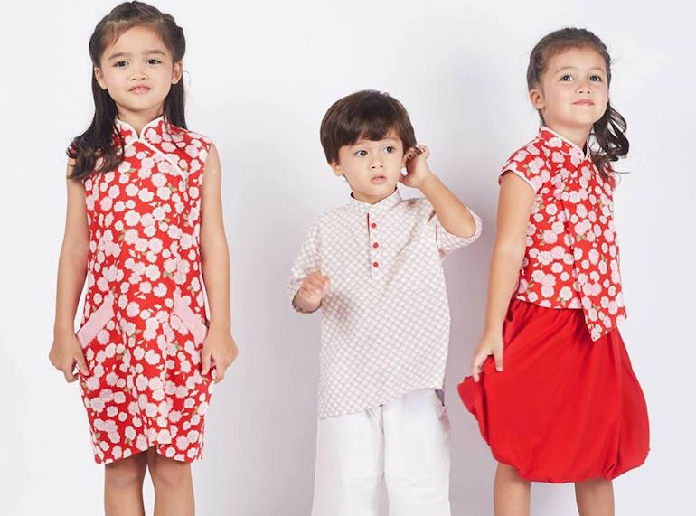 Cheongsams and Mandarin-collars for kids