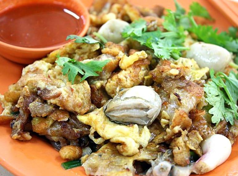 Oyster Omelette Hazwani
