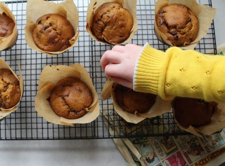 Quick and easy snacks for kids: the choc chip banana muffin recipe you need to try
