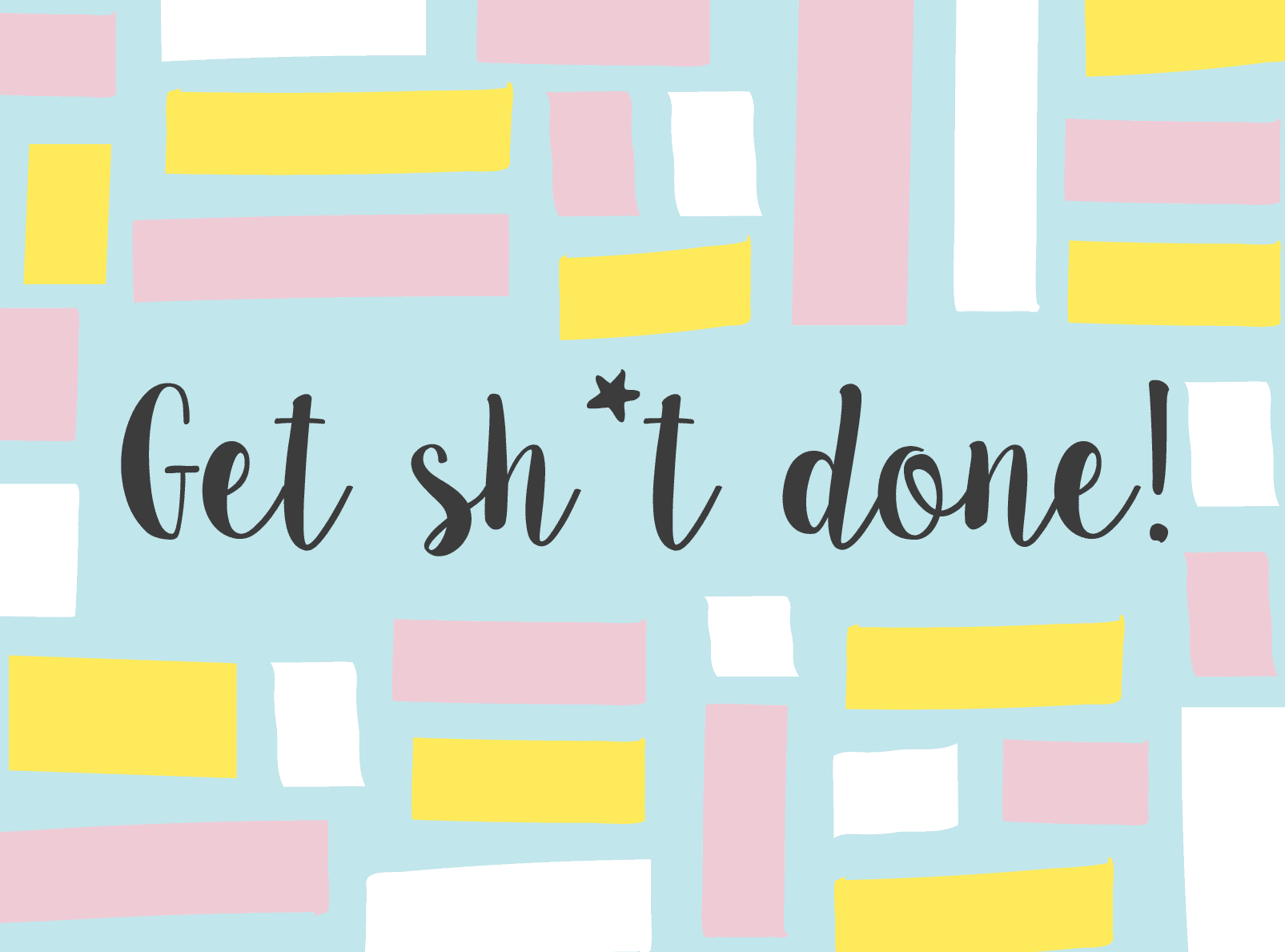 How to get organised: download our free printable to-do lists!