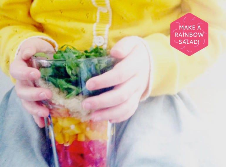 School lunchbox ideas rainbow in a jar Modern Family Food HoneyKids Asia