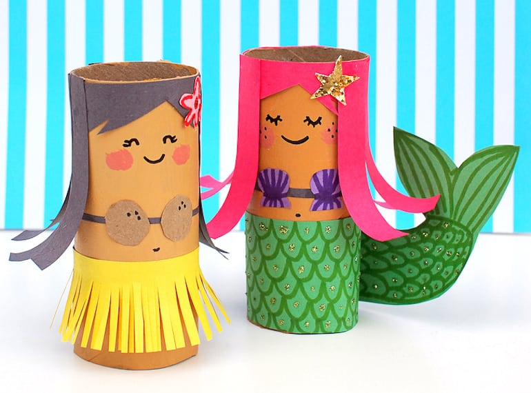 Because as parents we all need a toilet roll Moana in our lives…