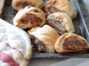 Make mini sausage rolls with the kids: recipe from Modern Family Food