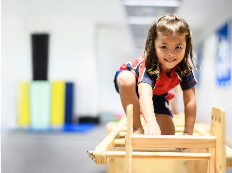 When children move they learn. Enter the SMART Steps program at Stamford American International School Singapore