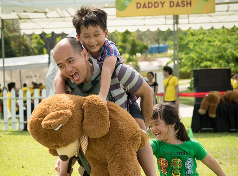 Holiday events for kids in Singapore: Outdoor carnival Aviva Superfundae at Gardens by the Bay