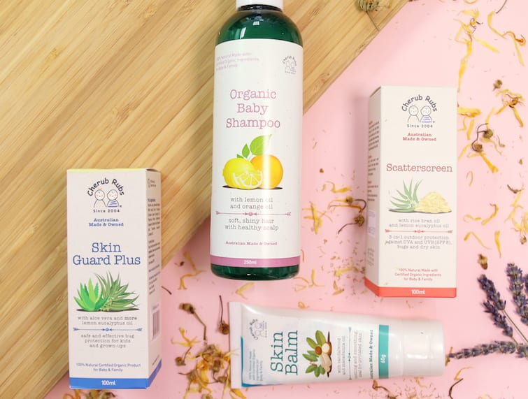 Natural skincare for babies in Singapore