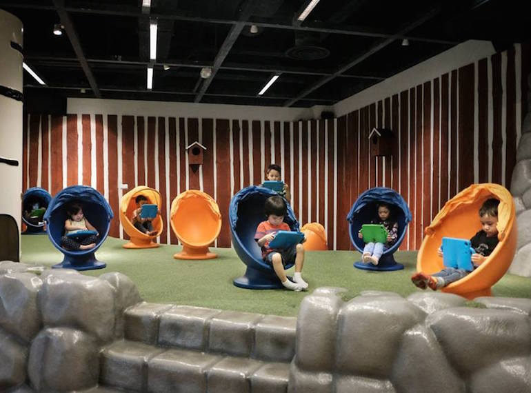 Is IKEA Singapore's iPad playground for kids the best April