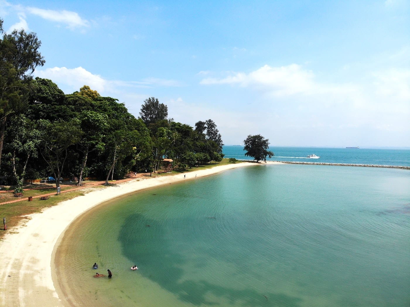 best beaches in Singapore kusu island
