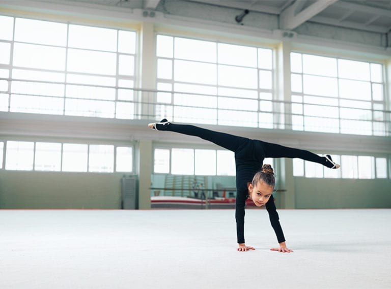 Gymnastic classes for toddlers, kids and teenagers in Singapore