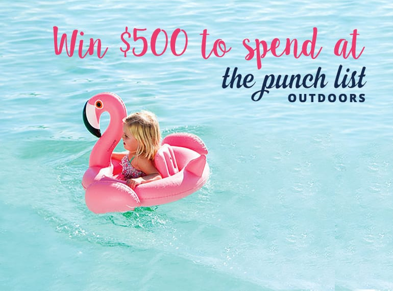 The Punch List Outdoors Shopping in Singapore giveaway HoneyKids Asia