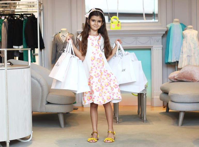 Shop for designer kids' fashion and enjoy special offers at Little Luxury Stars 2017 at MBS Singapore!