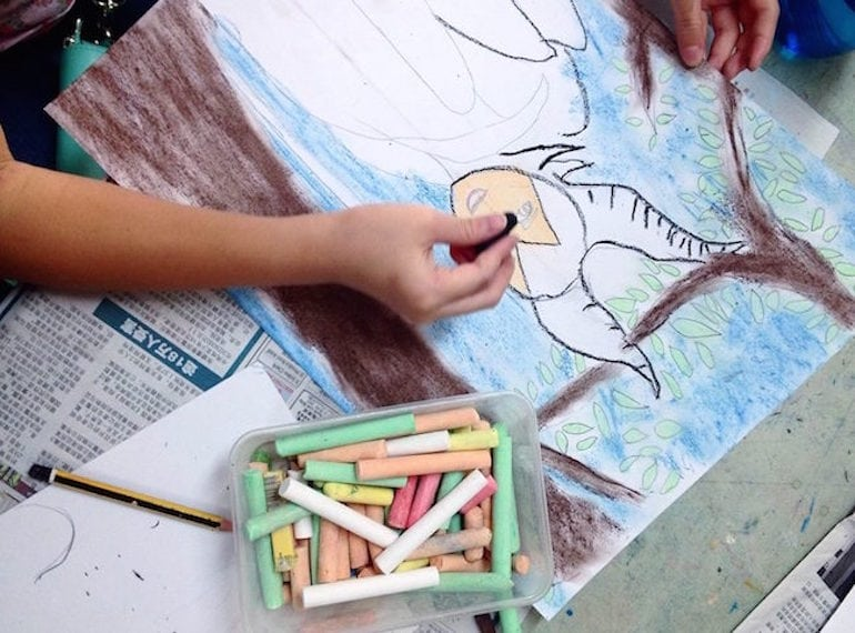 Art-Grainze Art classes for kids Honeykids Asia SIngapore