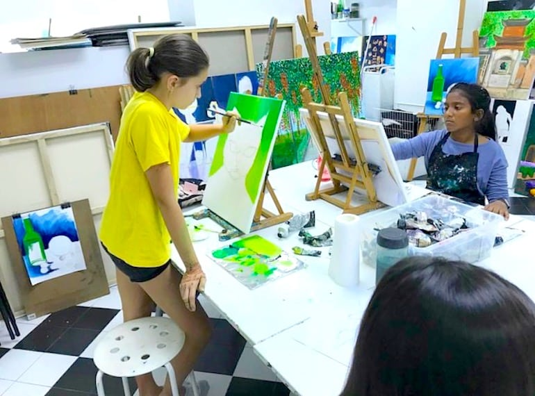 Arthaus art classes in Singapore Honeykids Asia