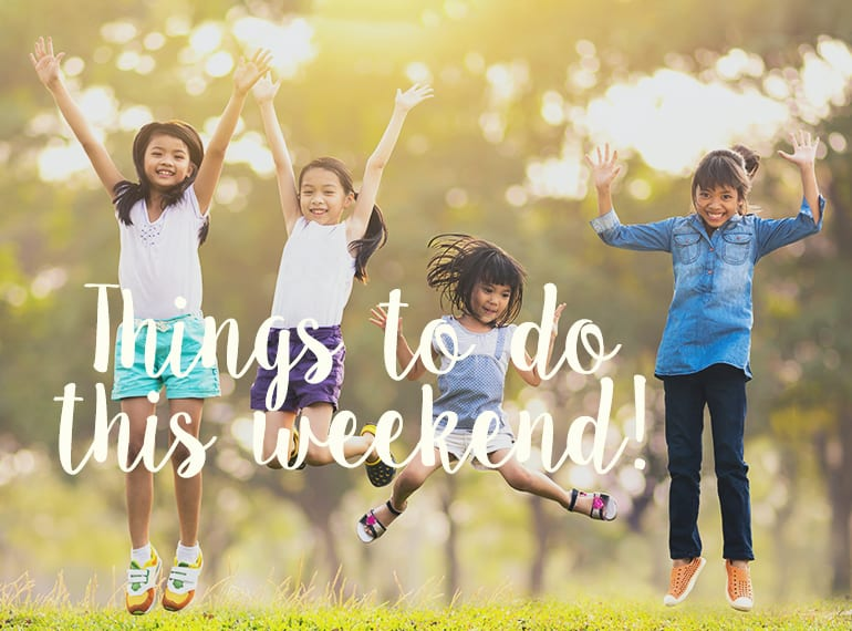10 things to do with the kids this weekend in Singapore: 15-16 December 2018
