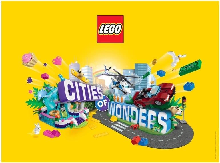 LEGO® Cities of Wonders event - Honeykids Asia