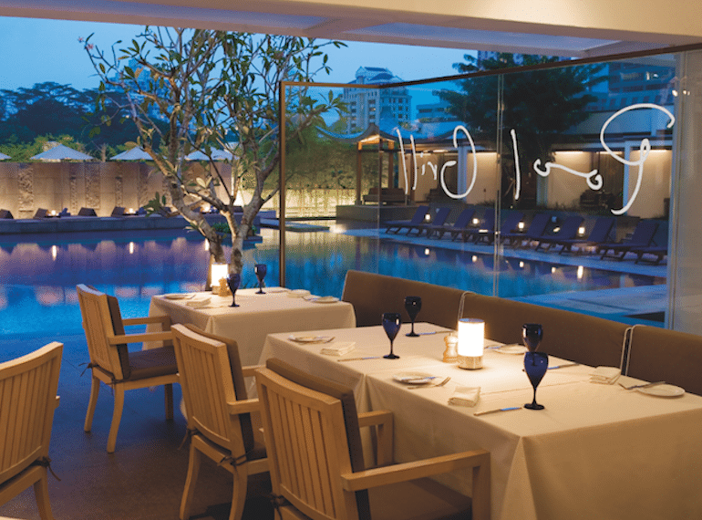 marriott pool grill Honeykids Asia Singapore
