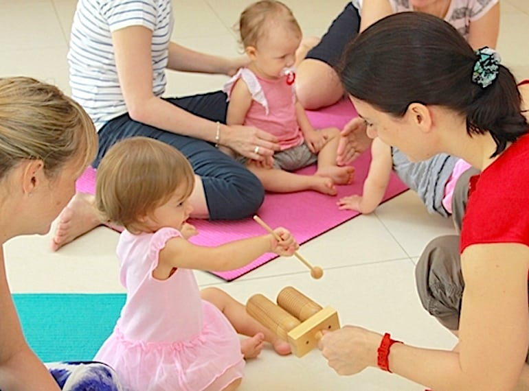 Baby classes in Singapore MUSICAL MONKEYS