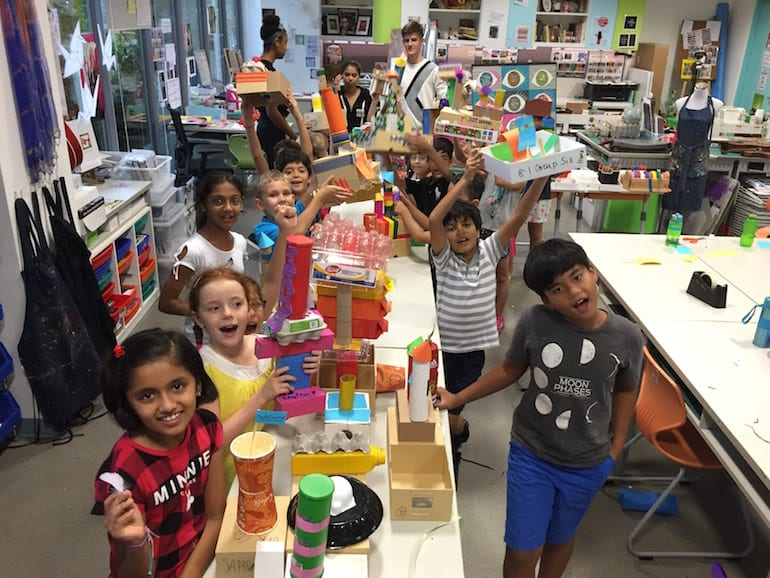 Best international schools: arts and creativity at GEMS World Academy Singapore