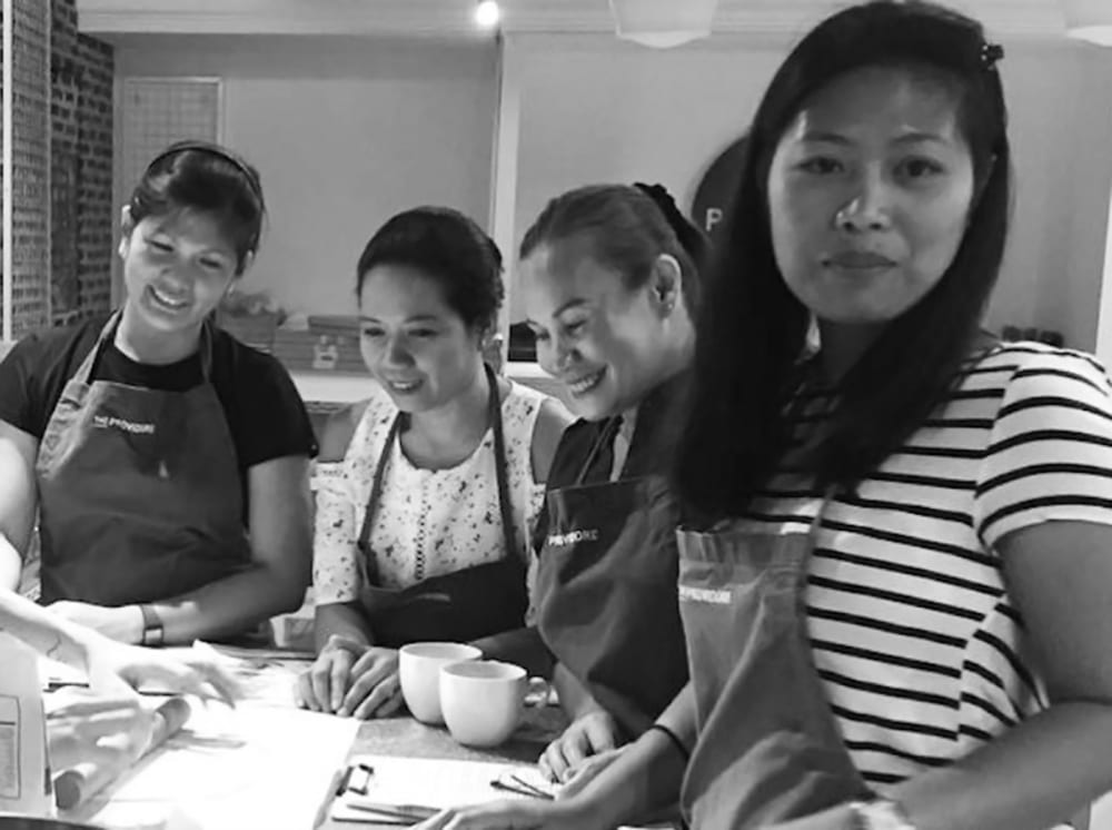 Win a cooking class for your helper in Tagalog at Providore Cooking Studio Singapore