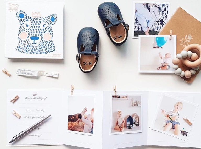 Stylish baby memory books: five great baby gifts you can order from Singapore