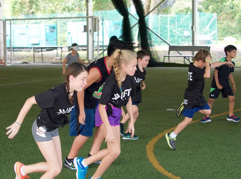 summer camp for sporty kids in Singapore UFIT