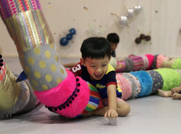 The Artground at Goodman Arts Centre: this could be best free indoor play for kids in Singapore