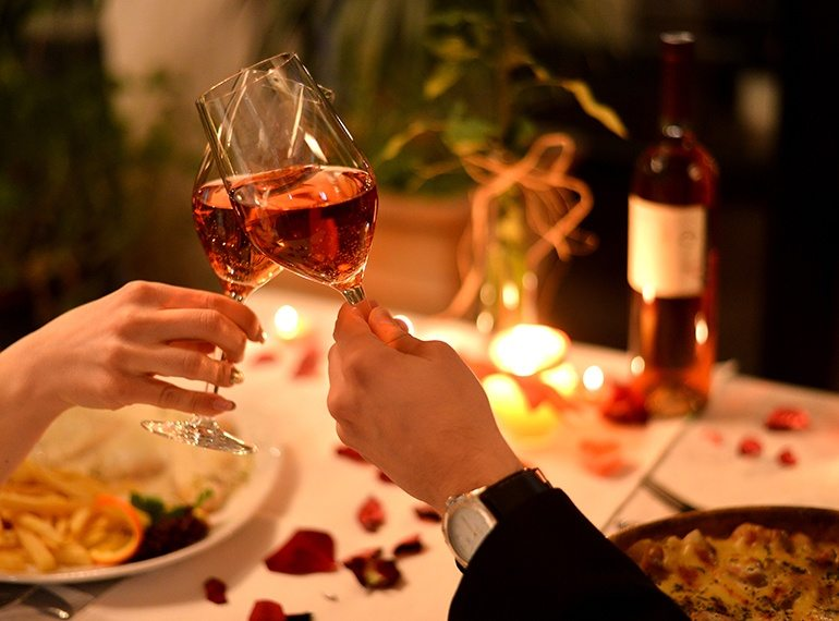 Go for a scenic glass of something cold | Top ideas for a night of romance