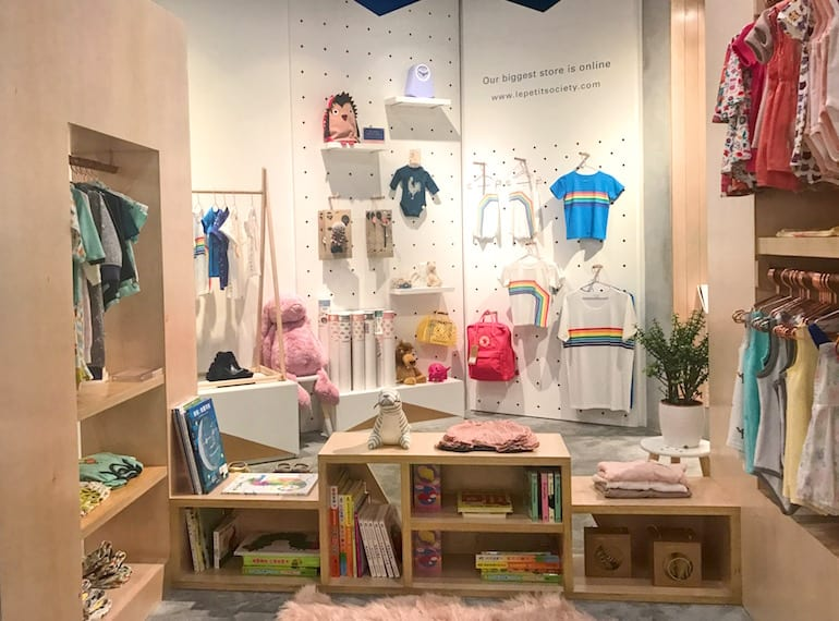 Shopping in Singapore: Le Petit Society opens store in Shenton Way with fashion and accessories for kids