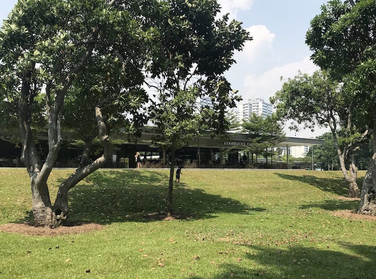 Parkland Green: Family restaurants, cafes and playgrounds at East Coast Park Singapore